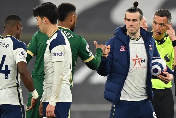 Bale ficou com a bola depois dos três golos ao Sheffield United