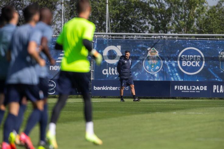Sérgio Conceição prepara a estratégia para o reencontro com o Chelsea