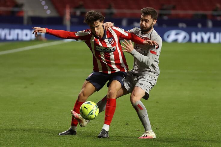 João Félix cumpre a segunda época no Atlético