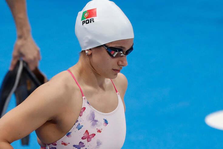 Ana Catarina Monteiro em ação nos Jogos