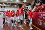 Benfica sagrou-se campeão de voleibol, mas fez a festa sem a taça