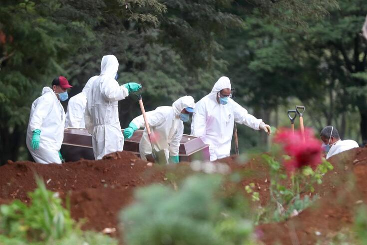 Brasil regista um aumento de vítimas mortais