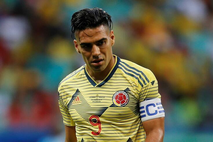 Falcao é uma das figuras do futebol colombiano