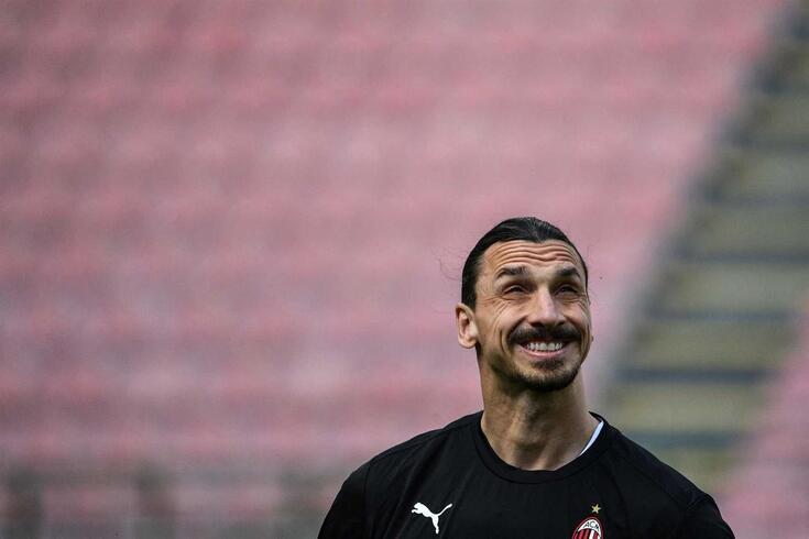 Zlatan Ibrahimovic, carismático avançado sueco