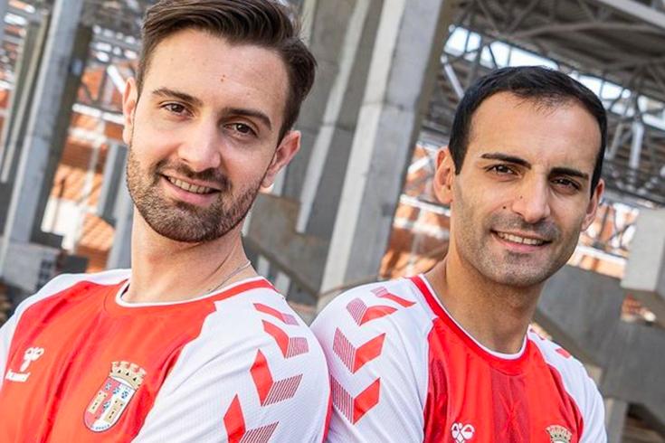 Tiago Brito e Fábio Cecílio estão de regresso ao Braga