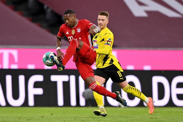 David Alaba passou grande parte da carreira no Bayern