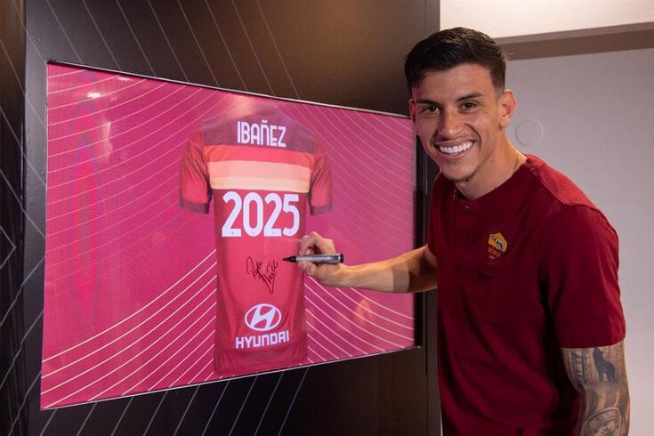 Ibañez com contrato até 2025