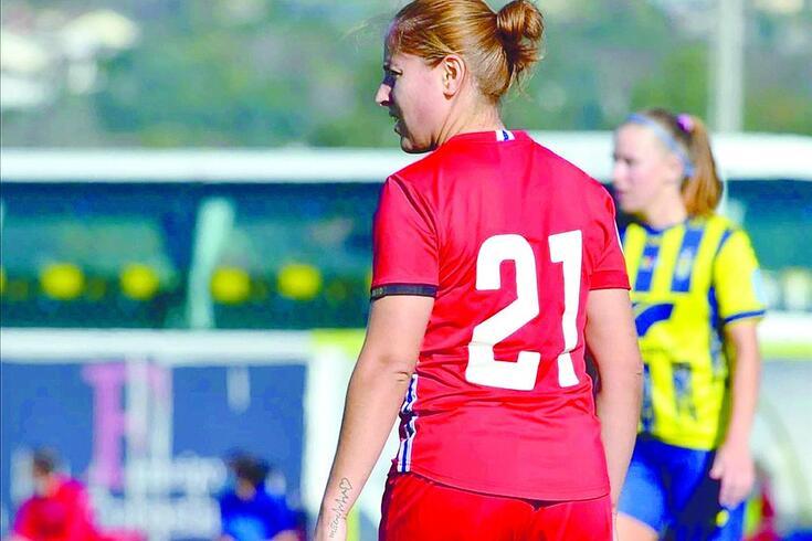 Bekas, jogadora do Gil Vicente