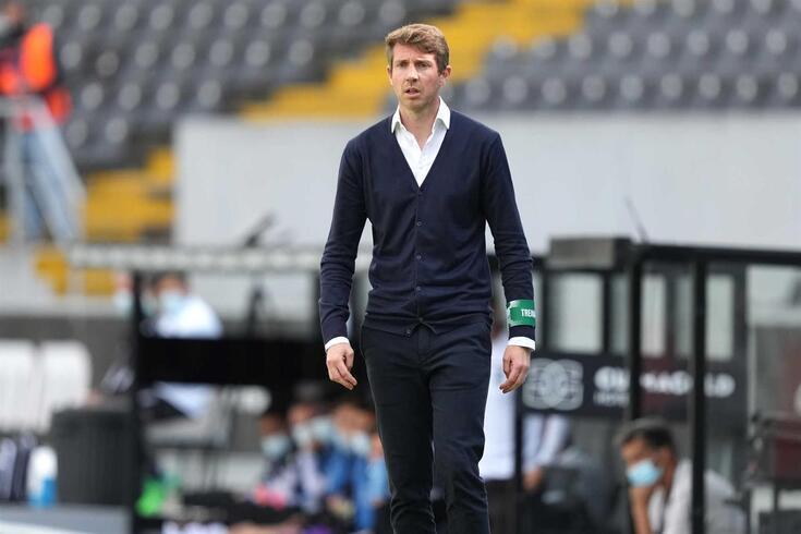 Vasco Seabra, treinador do Moreirense