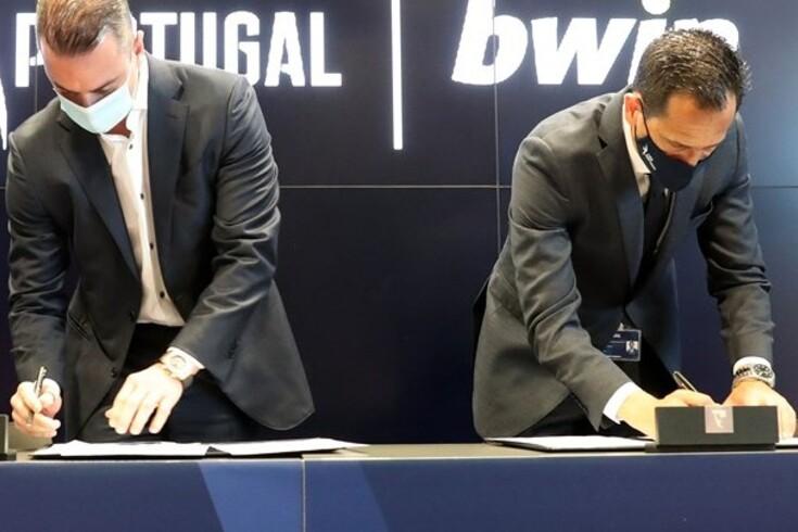 Liga e Bwin assinaram um acordo por cinco épocas