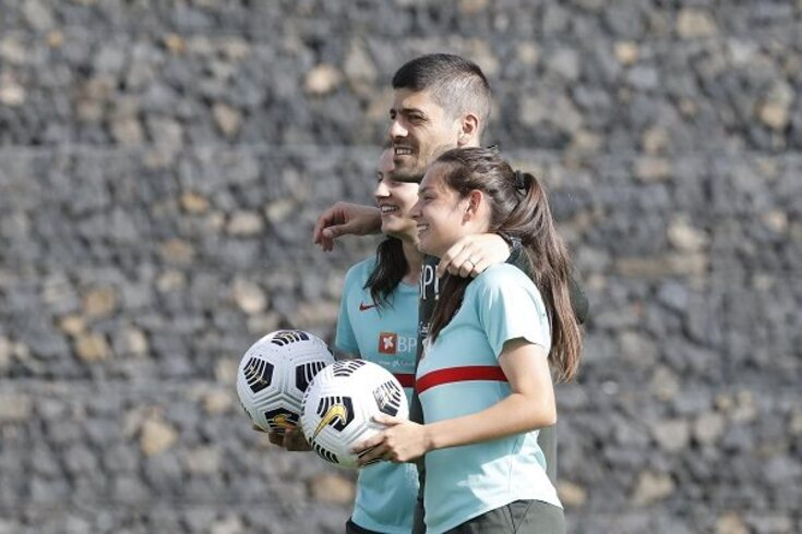 """Andreia Faria e o Rússia-Portugal: """"Tera bola nos pés e fazercom que elascorram"""""""