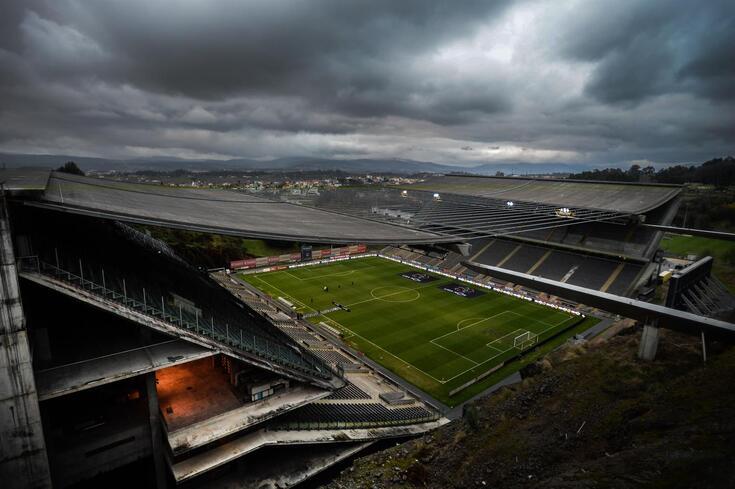 Braga e Paços de Ferreira em mais um jogo de preparação