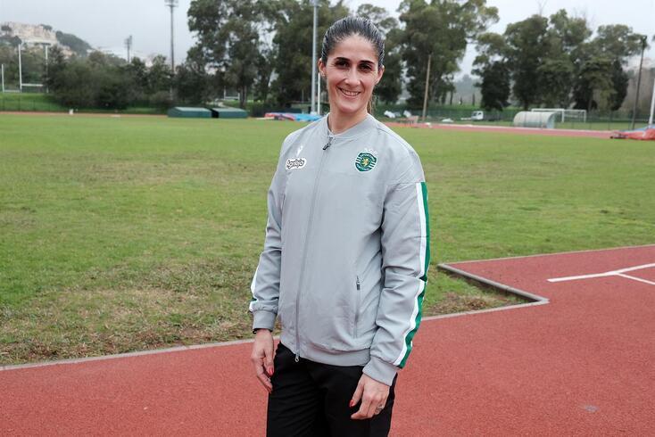 Sara Moreira, atleta do Sporting