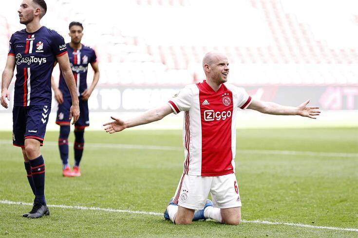 Ajax já assegurou a conquista do título