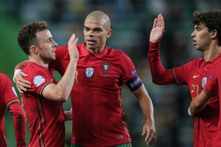 Pepe esteve em três mundiais por Portugal