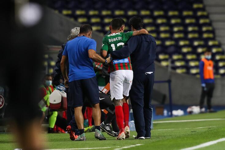 Rúben Ferreira sofreu uma grave lesão no Dragão