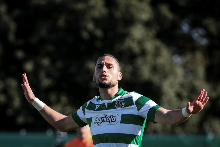 Pedro Mendes fez 15 golos em 20 jogos pelos sub-23