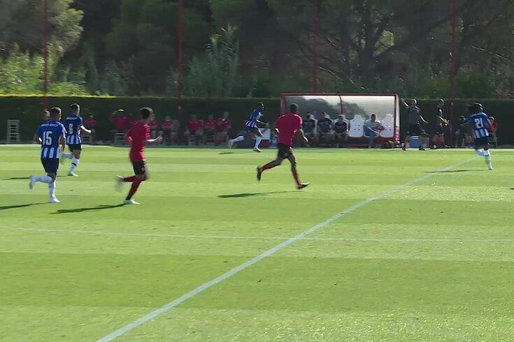 FC Porto goleou Louletano no estágio. Veja os golos de Zaidu, Baró e Francisco Conceição