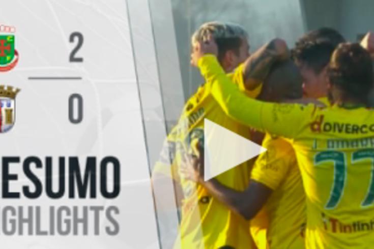 Um minuto apenas resume o triunfo do Paços de Ferreira sobre o Braga
