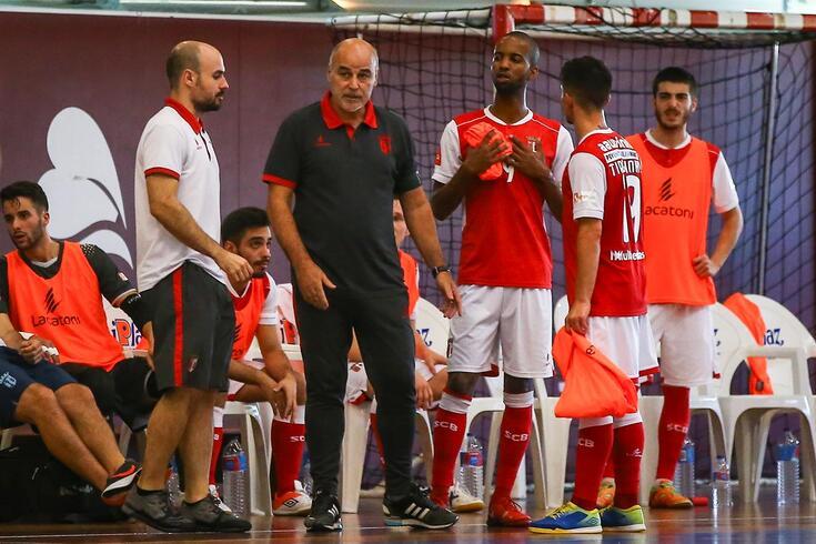Chicotada no comando técnico do Braga