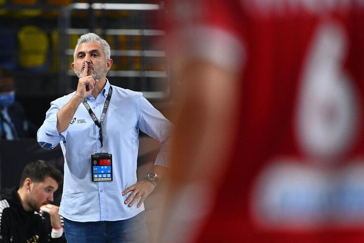 Paulo Jorge Pereira, selecionador português de andebol