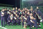O plantel do Boavista campeão em 2000/01
