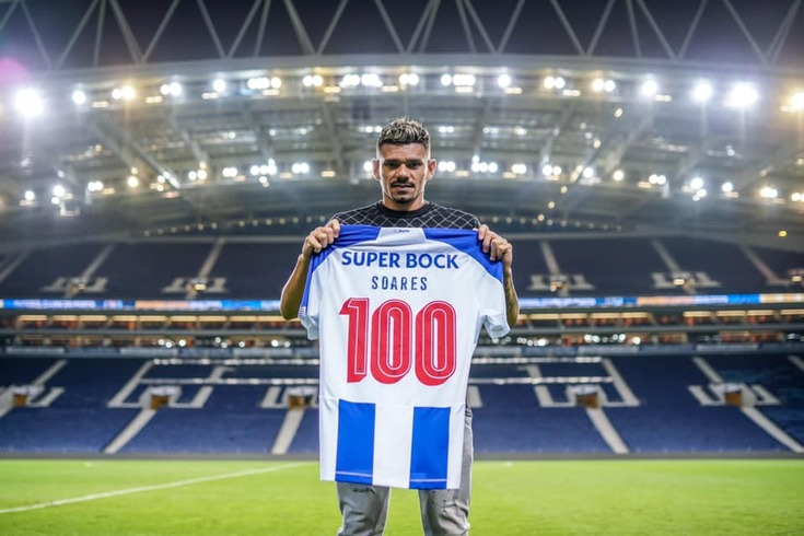 Soares chegou aos 100 jogos pelo FC Porto