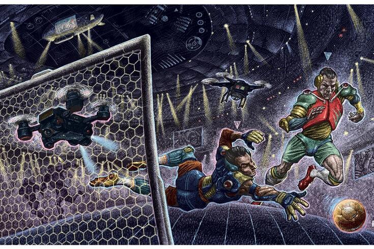 Ilustração de Ricardo Martinez