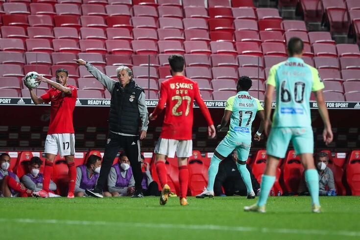 Benfica ainda acredita na conquista do título