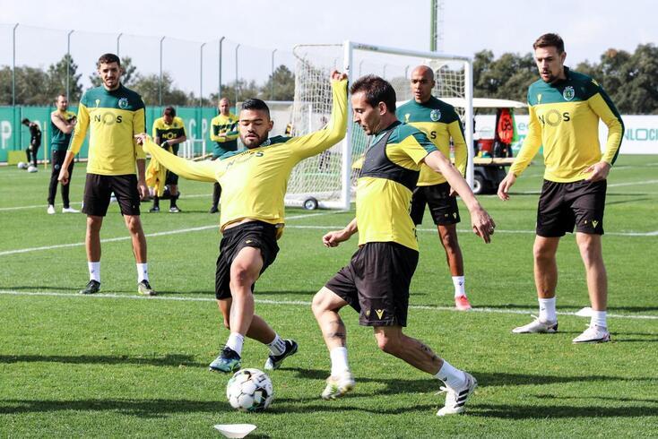 Sporting regressou ao trabalho após o clássico com o FC Porto