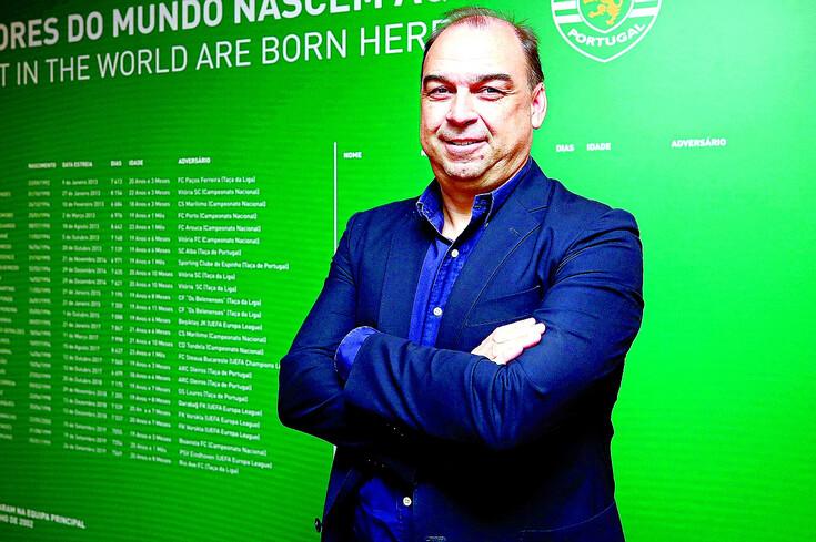 Paulo Gomes, diretor da Academia do Sporting