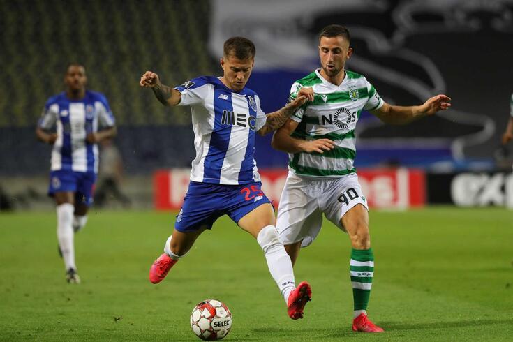 Otávio e Sporar no FC Porto-Sporting de 2019/20