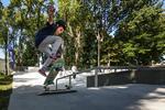 Praticantes voltaram ao Skate Park de  Ramalde