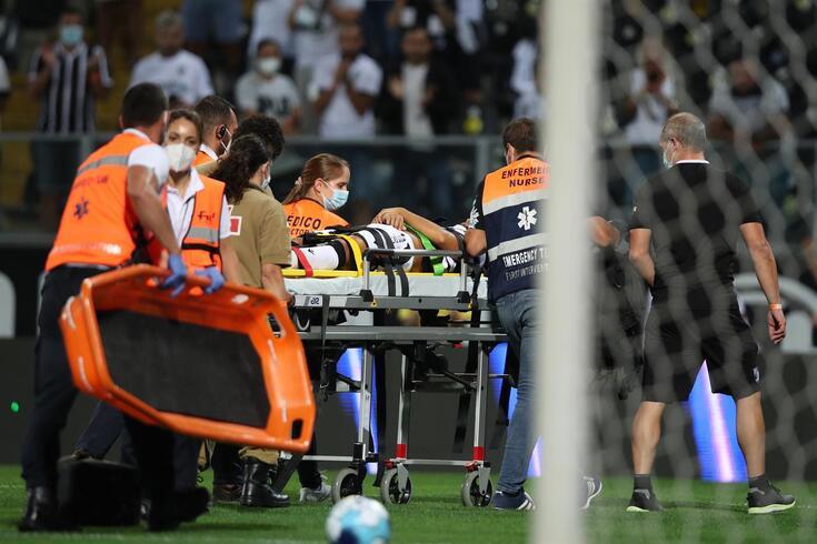 Rochinha recuperou os sentidos antes de ser evacuado para o hospital