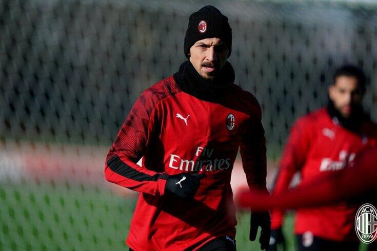 Zlatan Ibrahimovic, avançado do Milan