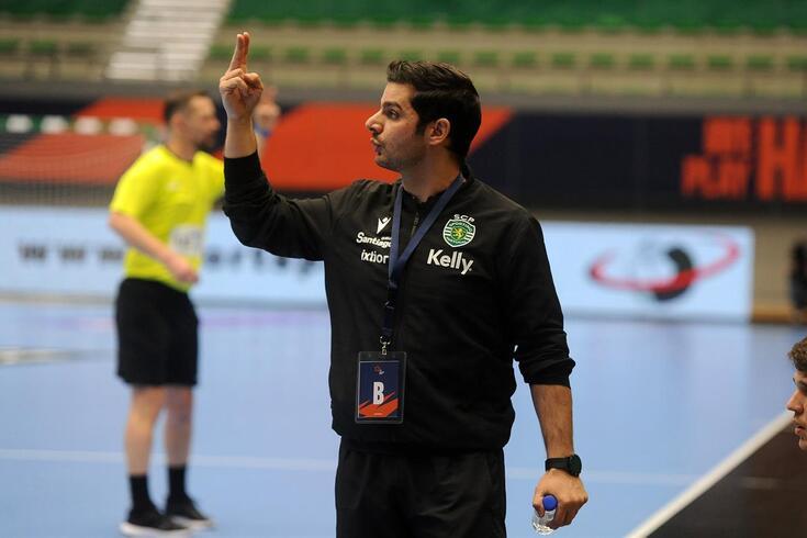 Rui Silva, treinador do Sporting