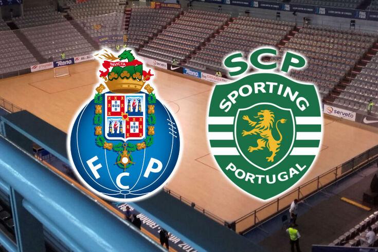 Sporting vence FC Porto e passa a liderar final do play off