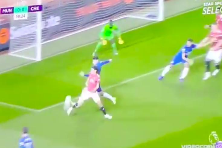 Cavani quase marcava ao Chelsea 15 segundos após entrar em campo