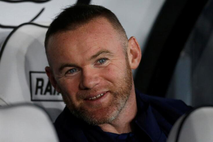 Rooney, treinador do Derby County