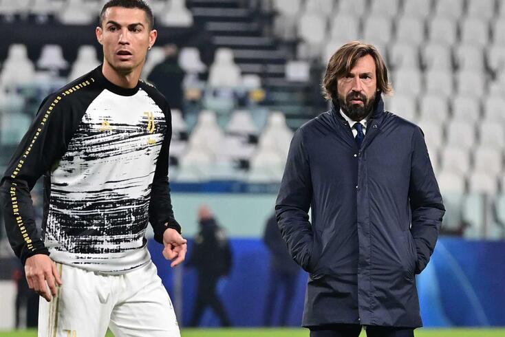 Cristiano Ronaldo e Andrea Pirlo