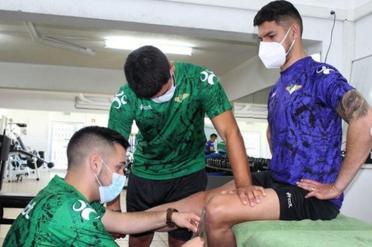 Jogadores do Moreirense foram examinados pelo staff técnico e médico