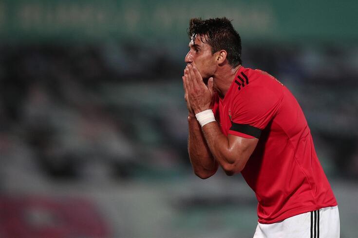 Gabriel está fora das contas do Benfica