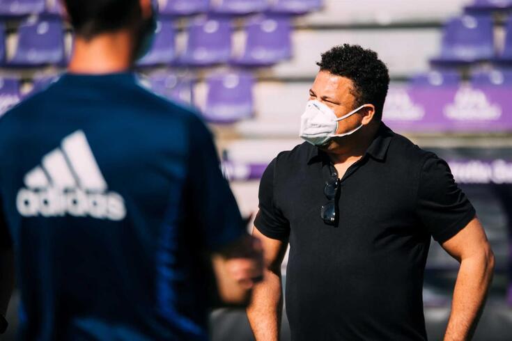 Ronaldo, antigo futebolista brasileiro, é favorável à Superliga