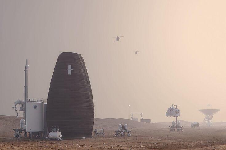 Casa dos astronautas que vão viver em Marte já foi escolhida