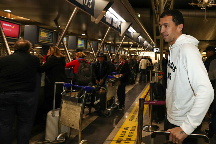 Marchesín partiu para os compromissos da seleção argentina