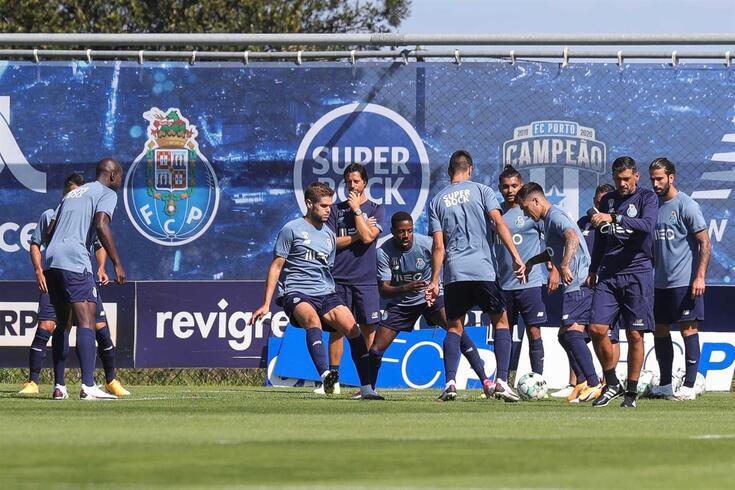 FC Porto voltou a treinar no Olival