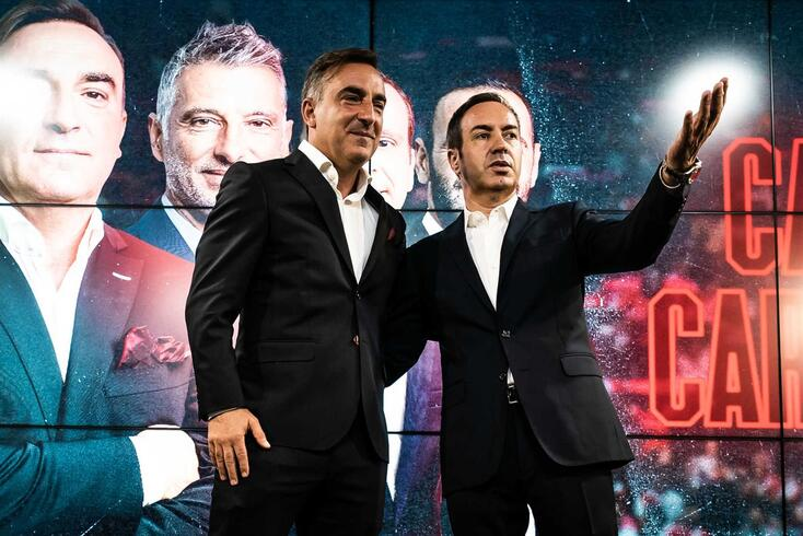 Carlos Carvalhal e António Salvador