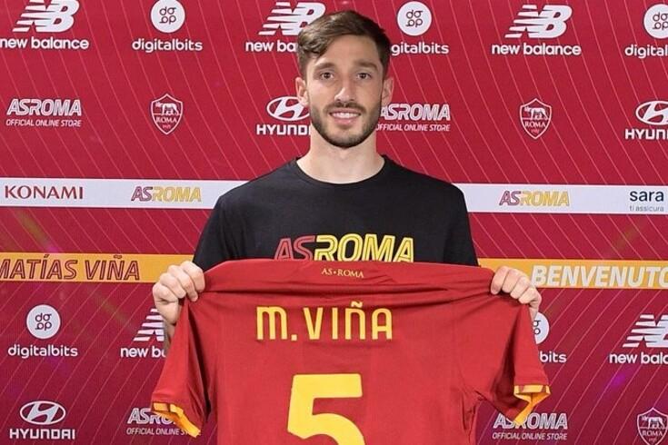 Matías Viña, novo lateral-esquerdo da Roma