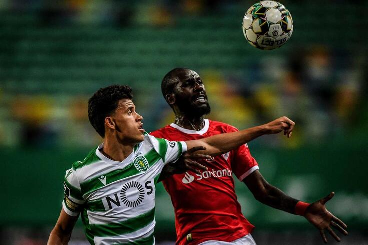 Matheus Nunes no Sporting-Santa Clara
