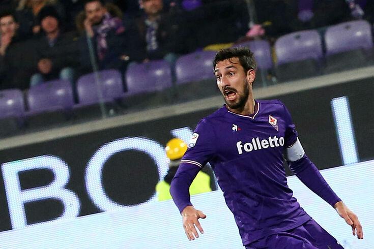 Davide Astori, antigo capitão da Fiorentina que faleceu em 2018